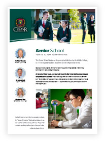 Senior School Information